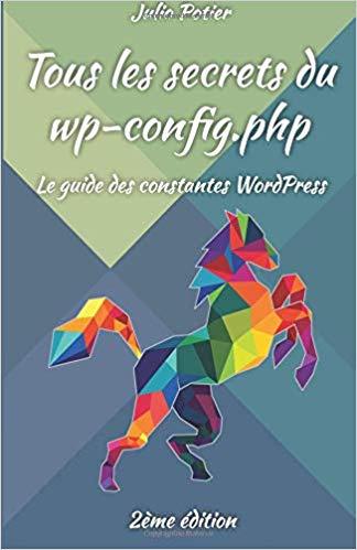 """Page de couverture du livre """"Tous les secrets du wp-config.php"""""""