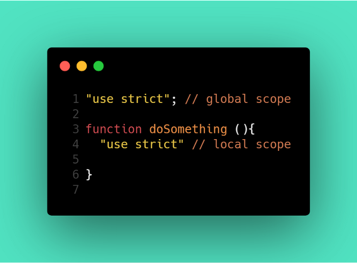 Différenciation portée globale / portée locale, en Javascript