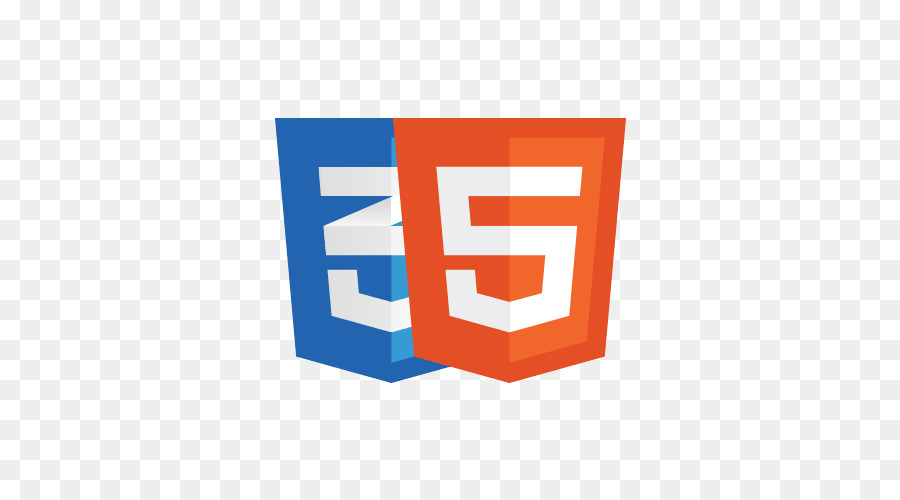Logo HTML5 et CSS3. Bibliothèques CSS